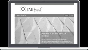 Greyscale TAB Bank API Sandbox page