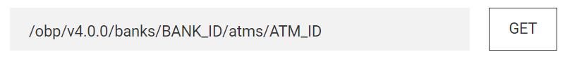 API URL with