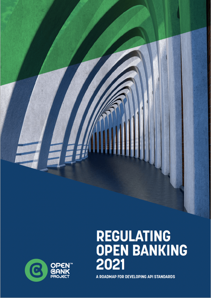 Cover page of Regulating Open Banking 2021 report